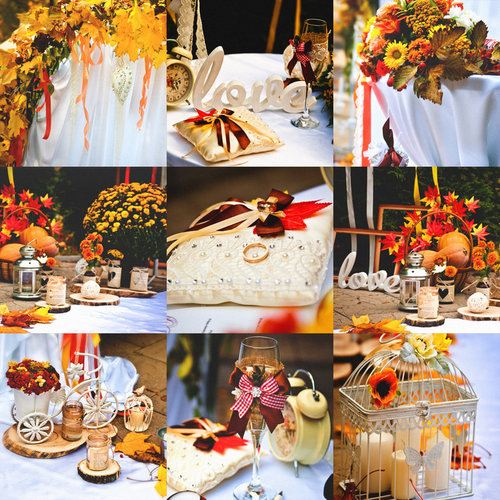 Festive fall wedding decorating ideas tent rentals lancaster pa an outdoor fall wedding is incredibly romantic getting married surrounded by fall colors and multiple fall accessories think pumpkins apples junglespirit Choice Image
