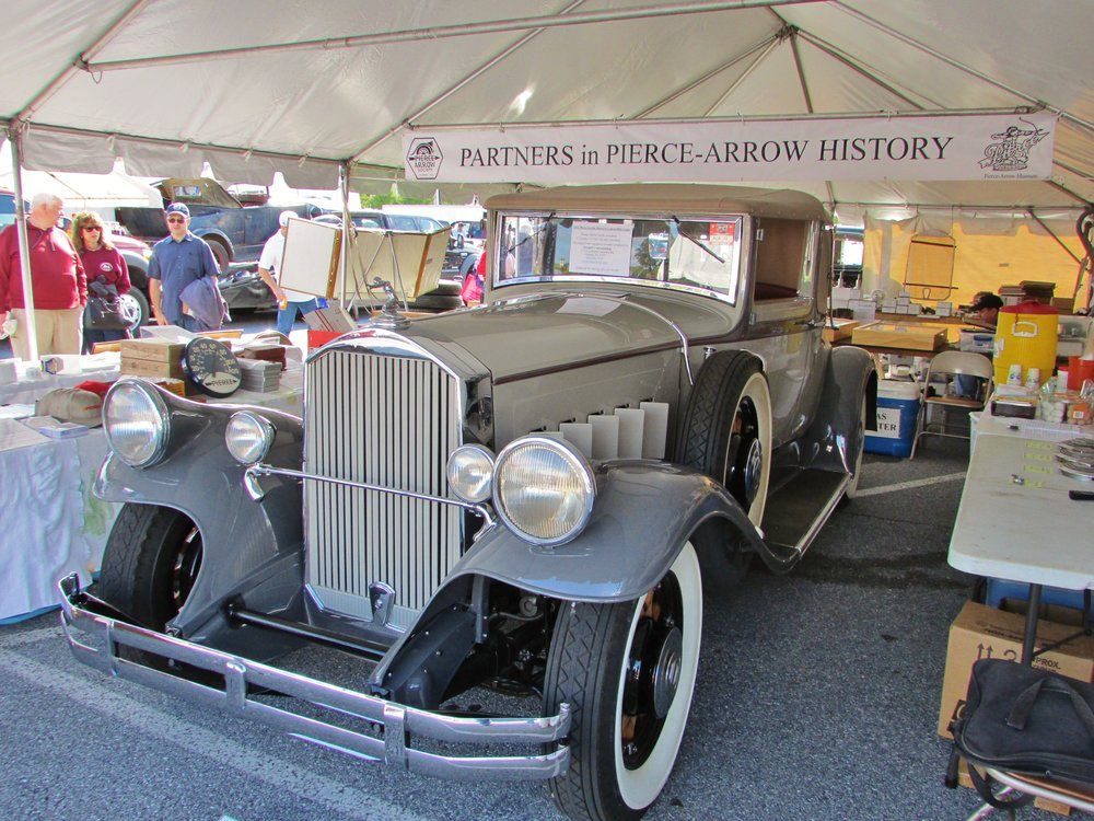 Hershey Car Show tent
