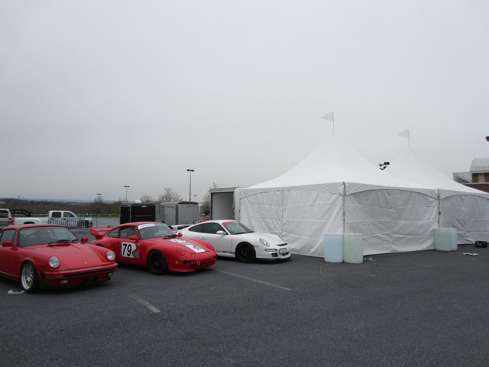 Hershey Car Show tents