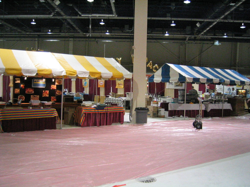 Pennsylvania Farm Show Tents