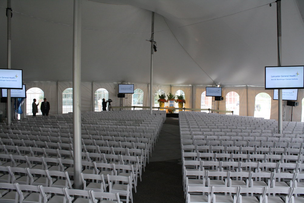 Tent and chair rental in New Holland