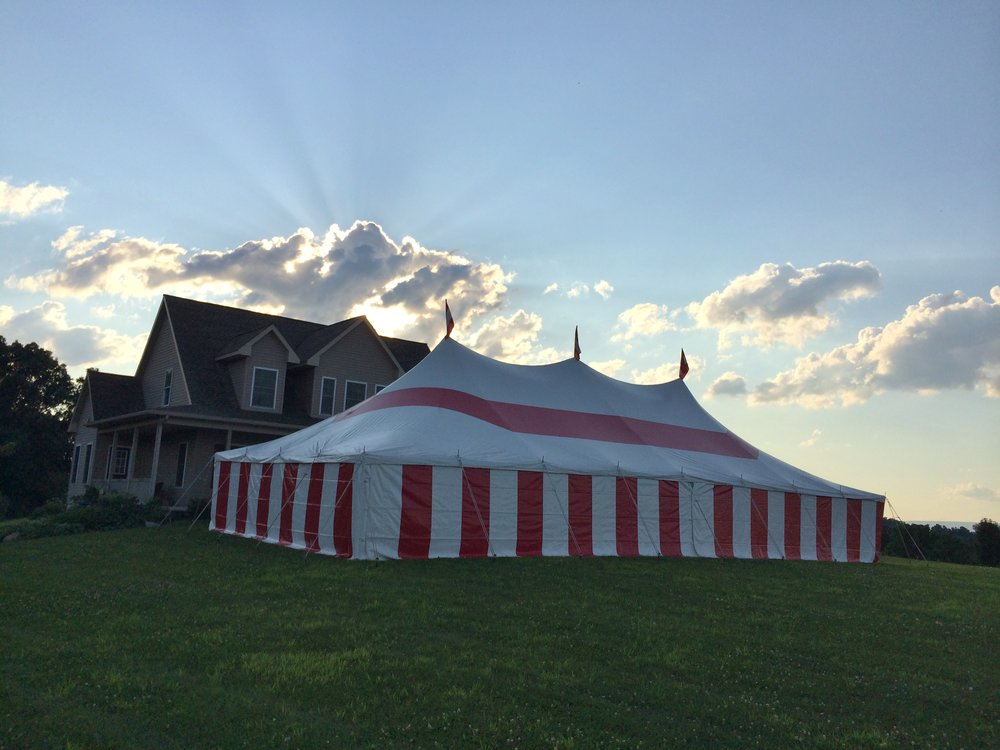 Party tents for rent in Willow Street