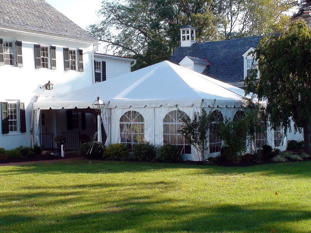 Frame tent rentals in Middletown