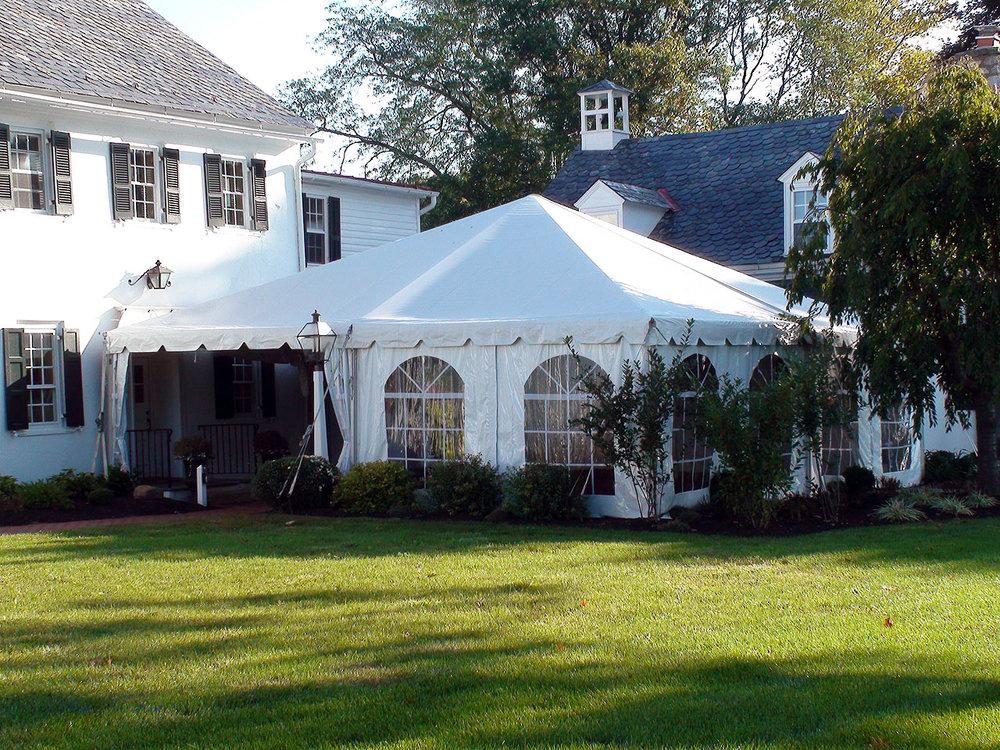 Frame tent rentals Bensalem PA