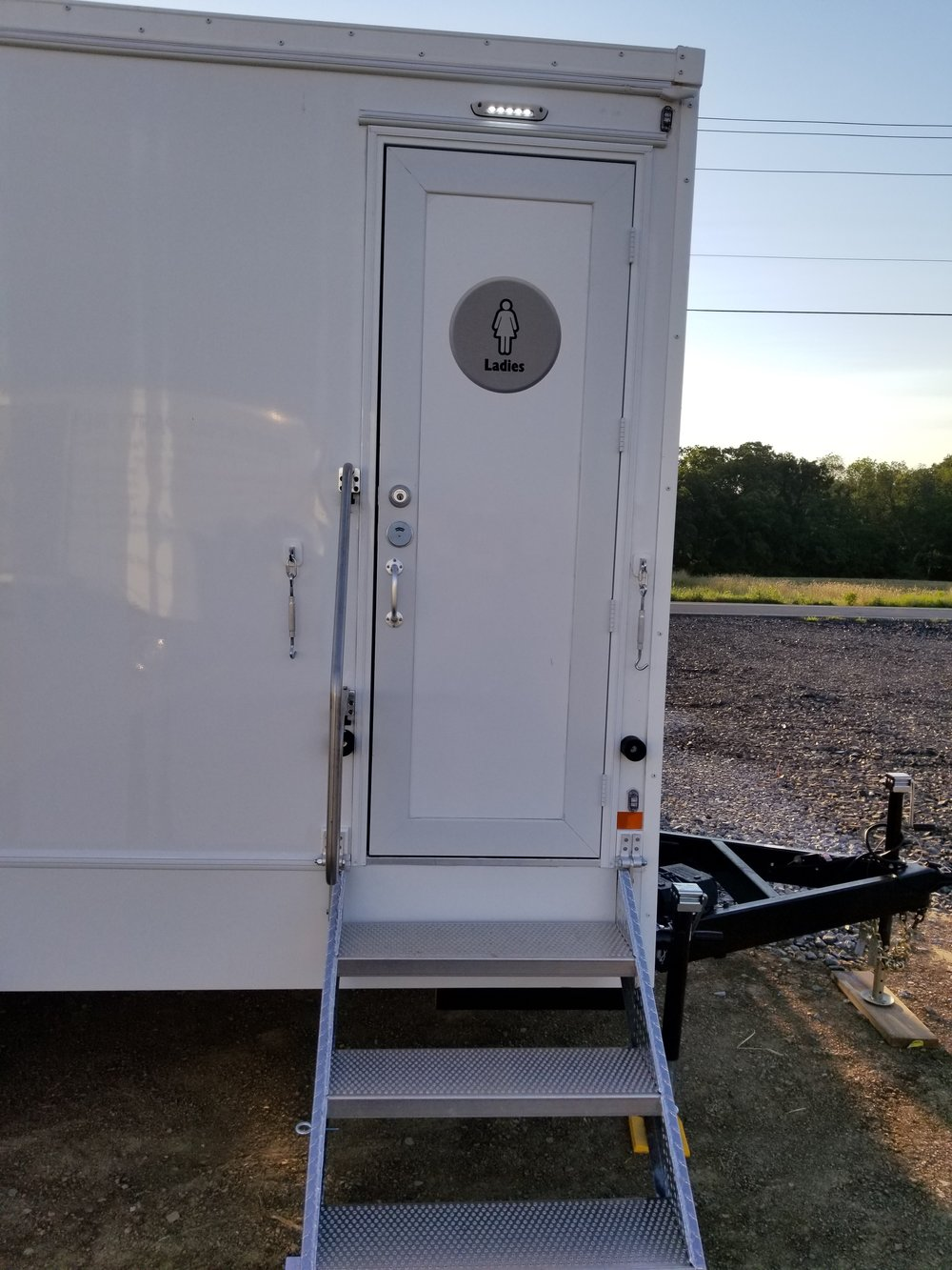 2 Person Portable Restroom Trailer