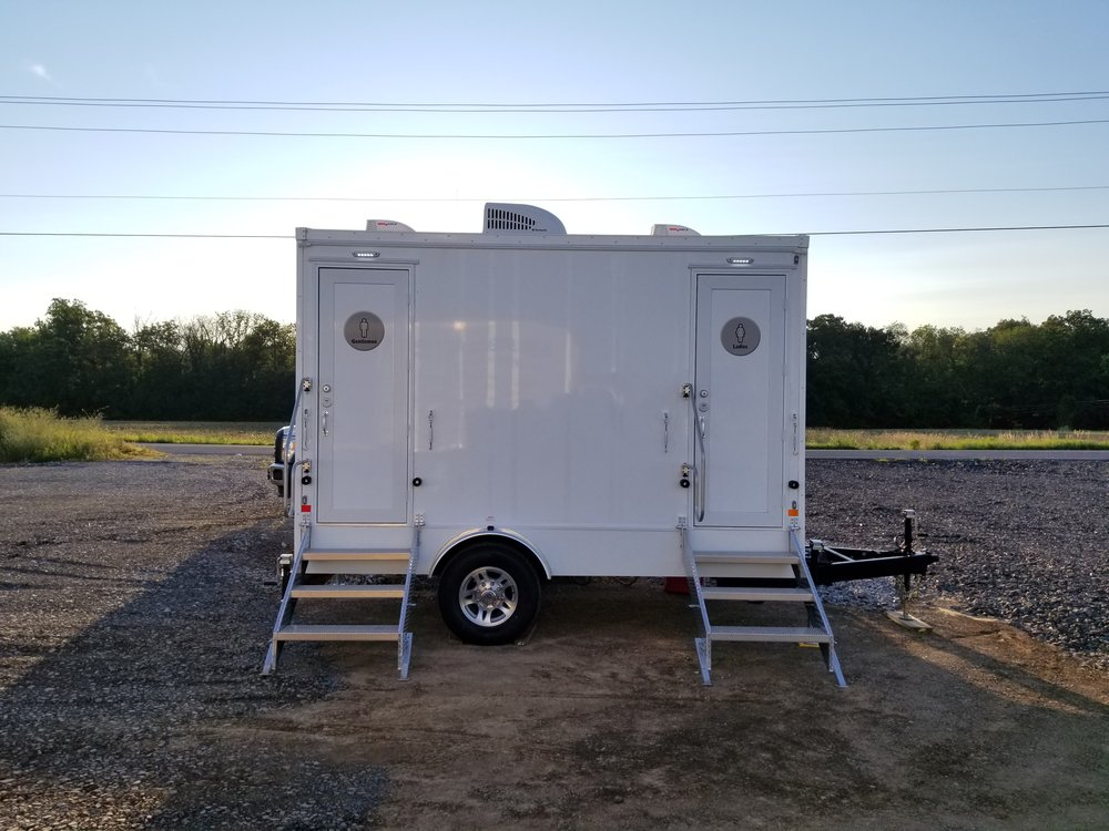 2 Person Event Restroom Trailer