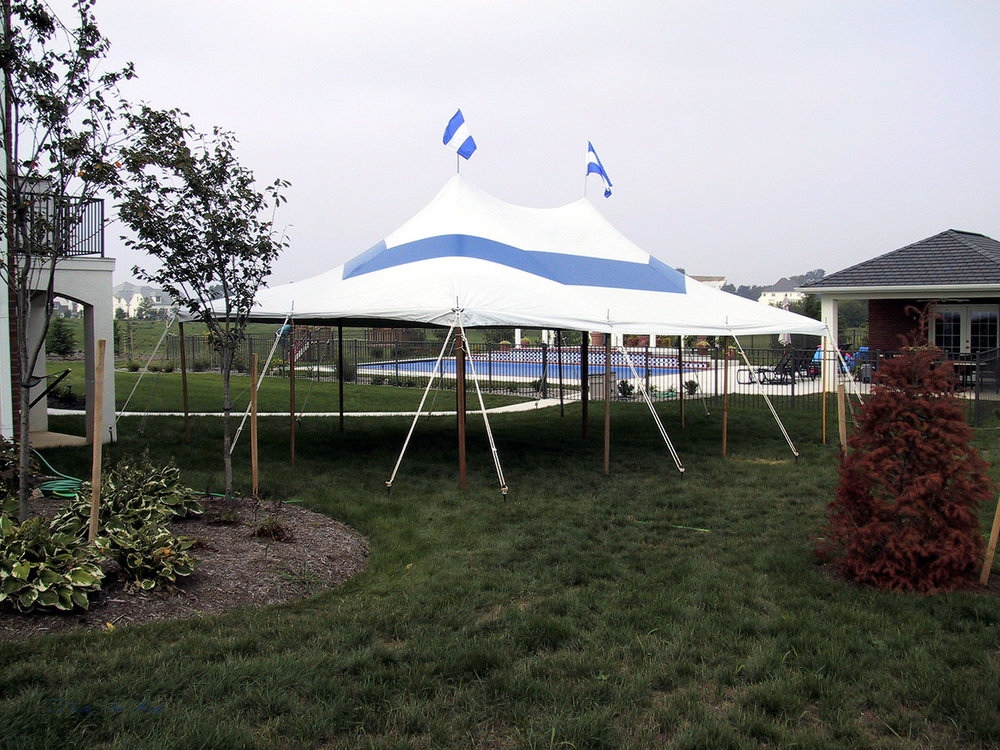 Celebrate outdoors with a graduation party tent
