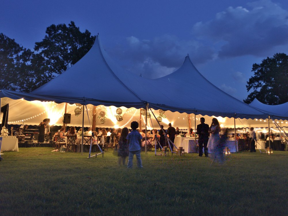 Beautiful Evening Wedding, Vineland NJ