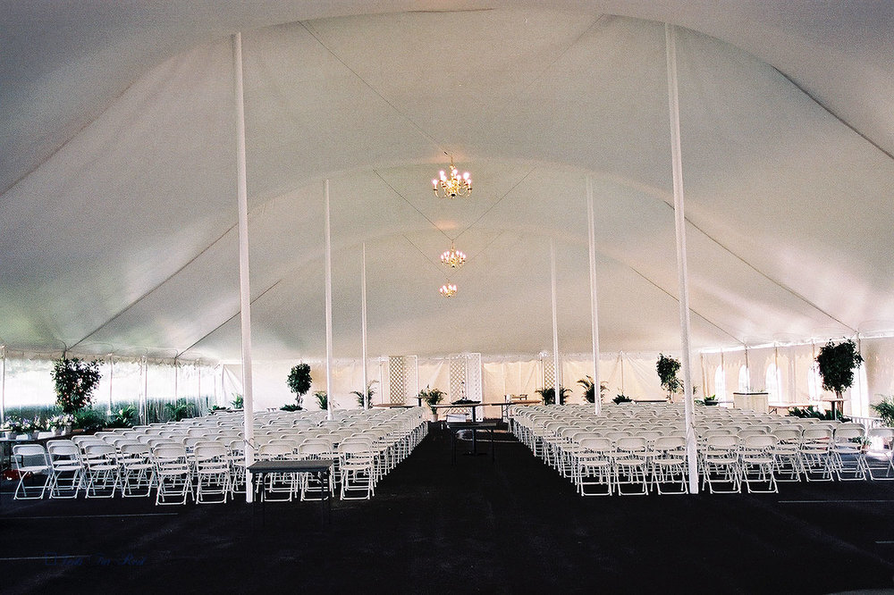 Beautiful large white tent in State College, PA