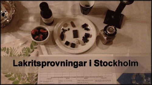 Choklad & Lakritsprovning -  Det godaste i stockholm