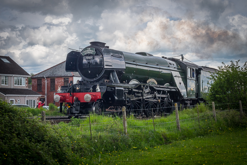Flying Scotsman in Penperlleni