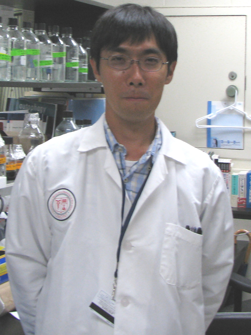 Yoshiya Monden, MD, PhD Email Yoshiya 2010-2012 Postdoctoral Fellow, UMDNJ 2007-2010 Clinical Fellow, Hiroshima Red Cross Hospital & Atomic-bomb Survivors Hospital, Japan 2003-2007 Ph.D., Kyushu University 2001-2003 Medical Resident, Kyushu University Hospital 1995-2001 M.D., Kyushu University, Japan Research Interests: Molecular mechanism of autophagy in regulating cardiac remodeling