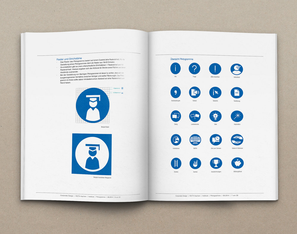 - My task was to design and expand the university's visual language by building an extensive set of icons for a cohesive experience and easier communication between students and the institution.