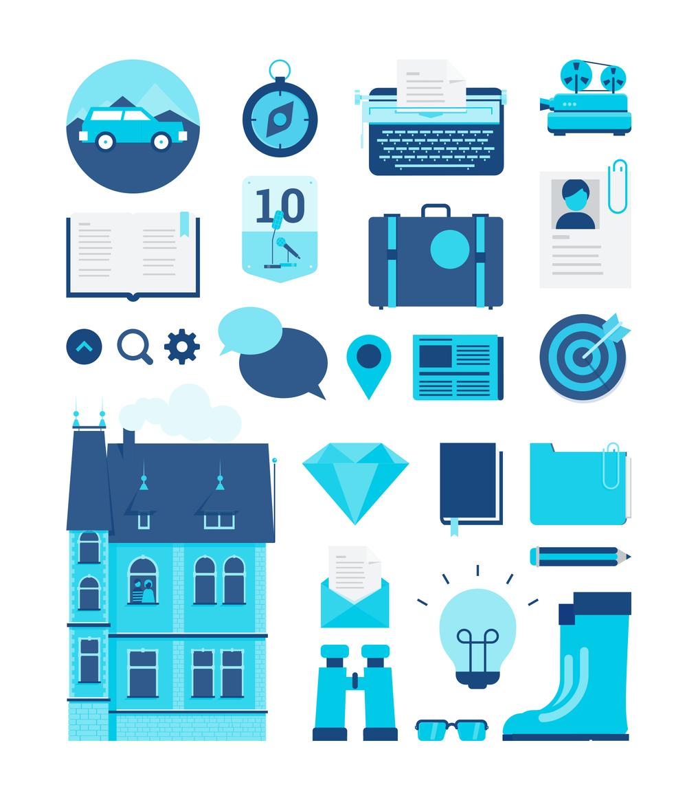 additiv pr icons and illustrations