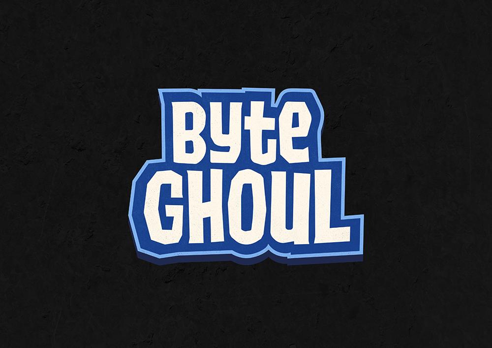 Byteghoul logo, an independant game developer.