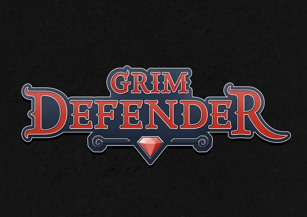 Logo design for the developer's debut game.