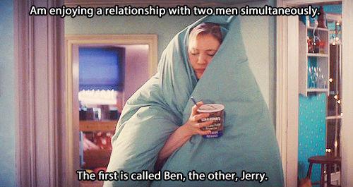 Bridget Jones' Diary...one of the best.