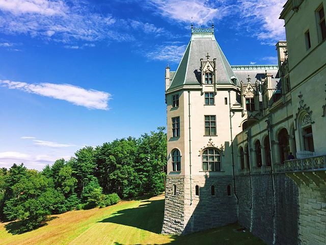The Vanderbilt's Biltmore Estate makes Downton Abbey look shabby.
