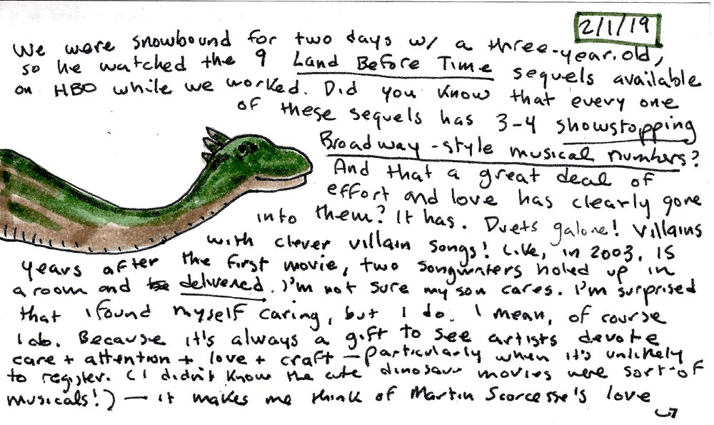 index card on the dinosaur songs.jpg