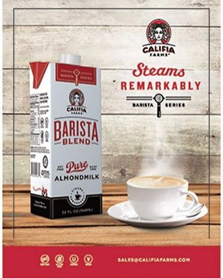 Barista Blend Almond Milk from Califia Farms has finally arrived!