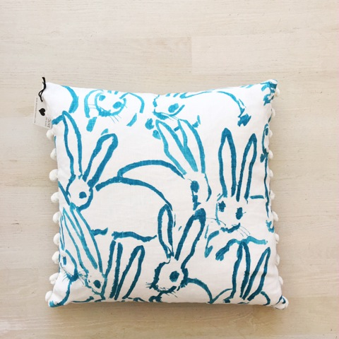 Artisan Made Bunny Pillow
