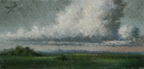 Detail from Cloudy Plains