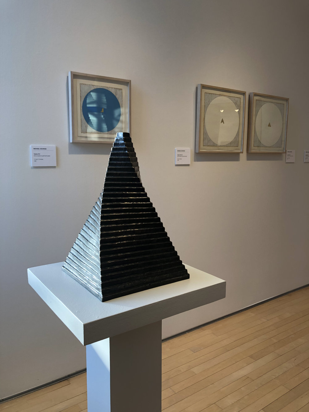 "Michael Cochran Draconis 1982, 15"" x 10"" x 10"", bronze"