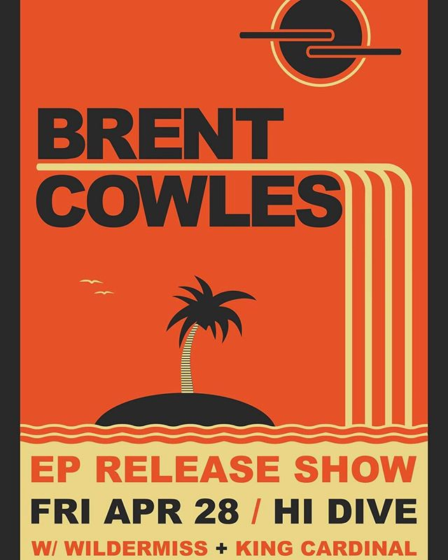 🎟🎟TICKETS ARE ON SALE NOW! 🎟🎟 4/28 @brentcowlesmusic EP Release show at @hidive_denver This show WILL SELL OUT. Grab your tickets while you can. (Link in Bio)