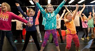 Children experience the joy of performing at Express Yourself, Beverly, MA