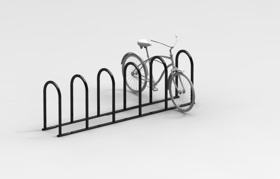 "Inverted ""U"" Bike Rack"