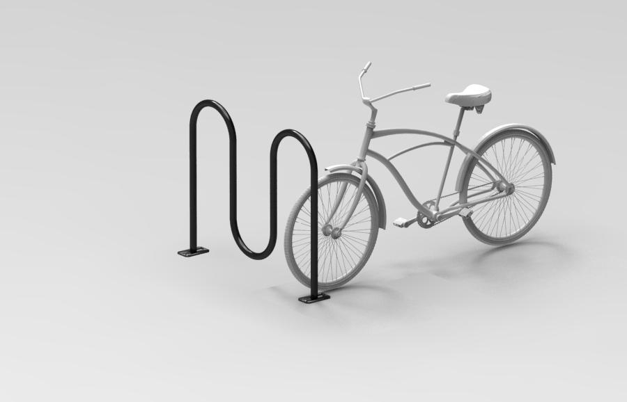 Wave Bike Rack
