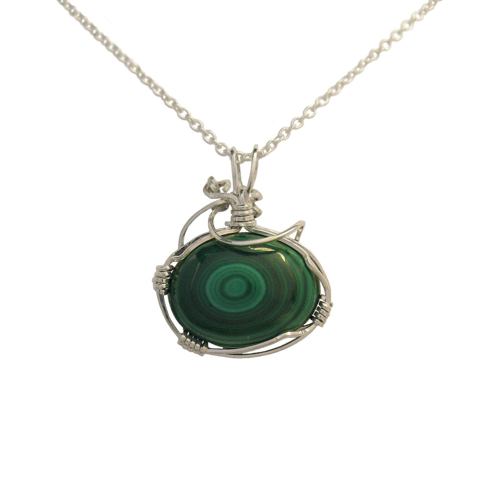 Wire Wrapped Malachite.jpg