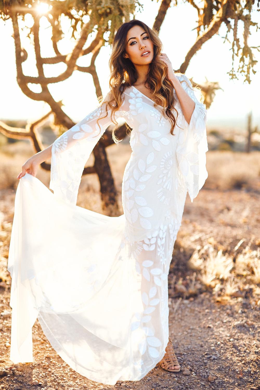 Dreamy Desert Escape- The Bridal Boutique • Rue De Seine Bridal • Nicole Sarah Wedding Photography