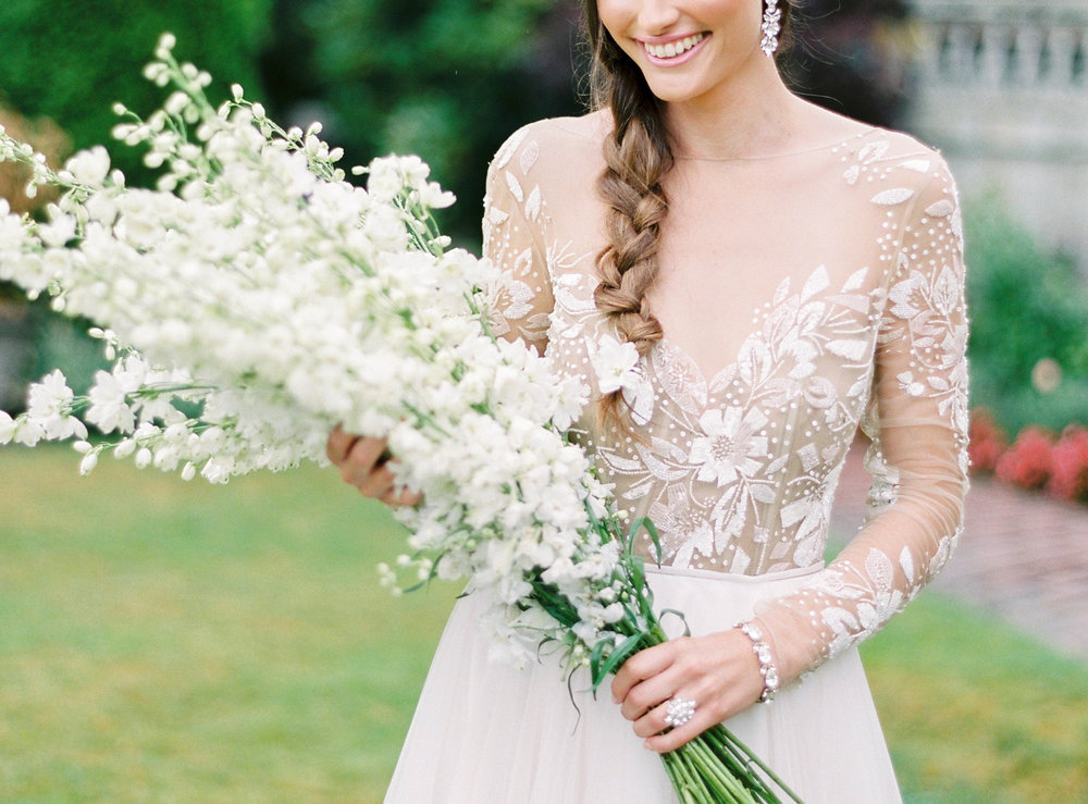 The Bridal Boutique • Hayley Paige • Romantic Garden Wedding