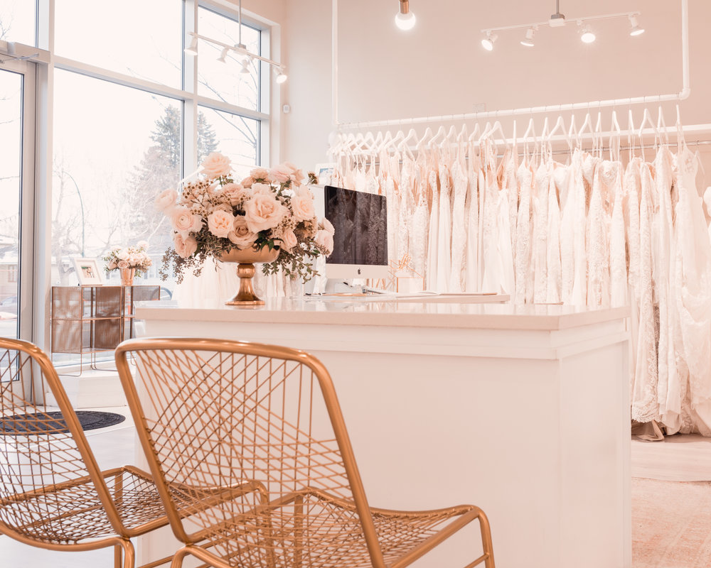 The Bridal Boutique Calgary - Visit Us