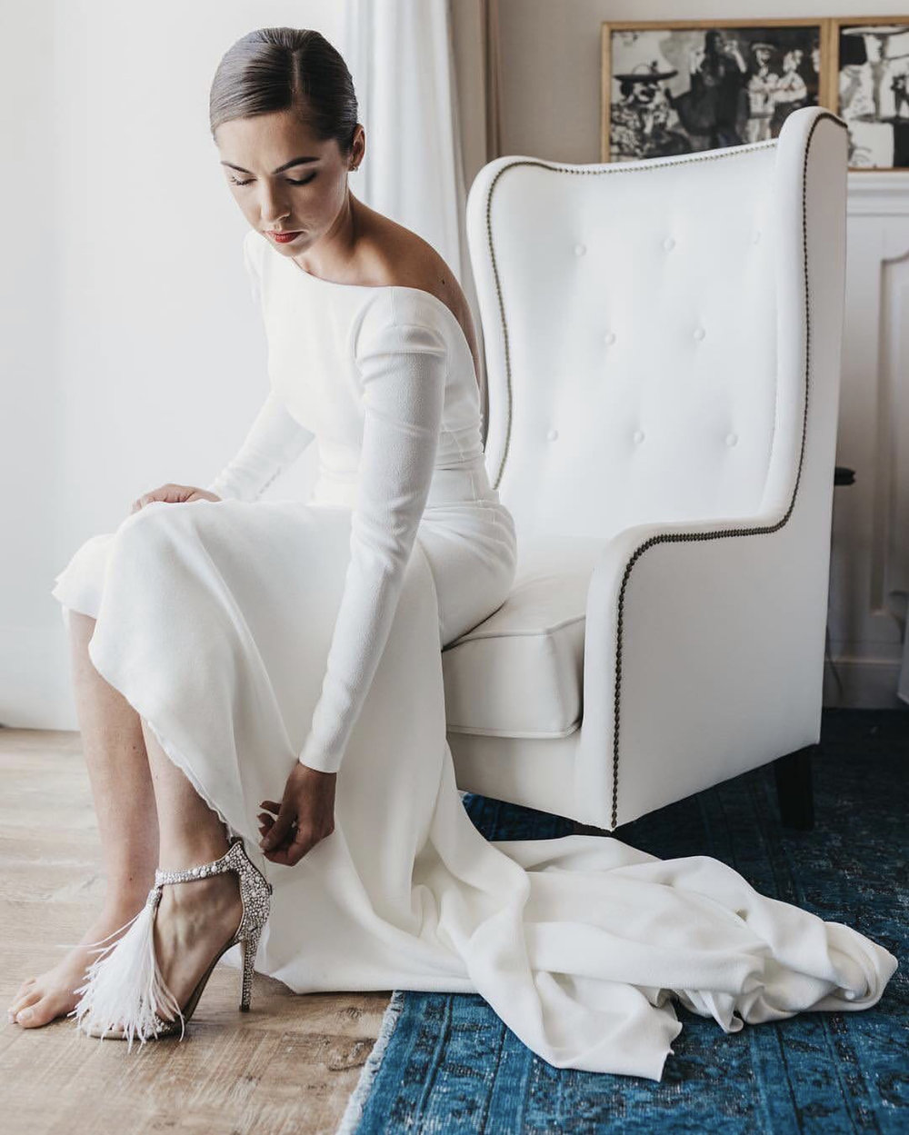 124464b539ce0b If the Shoe Fits — The Bridal Boutique