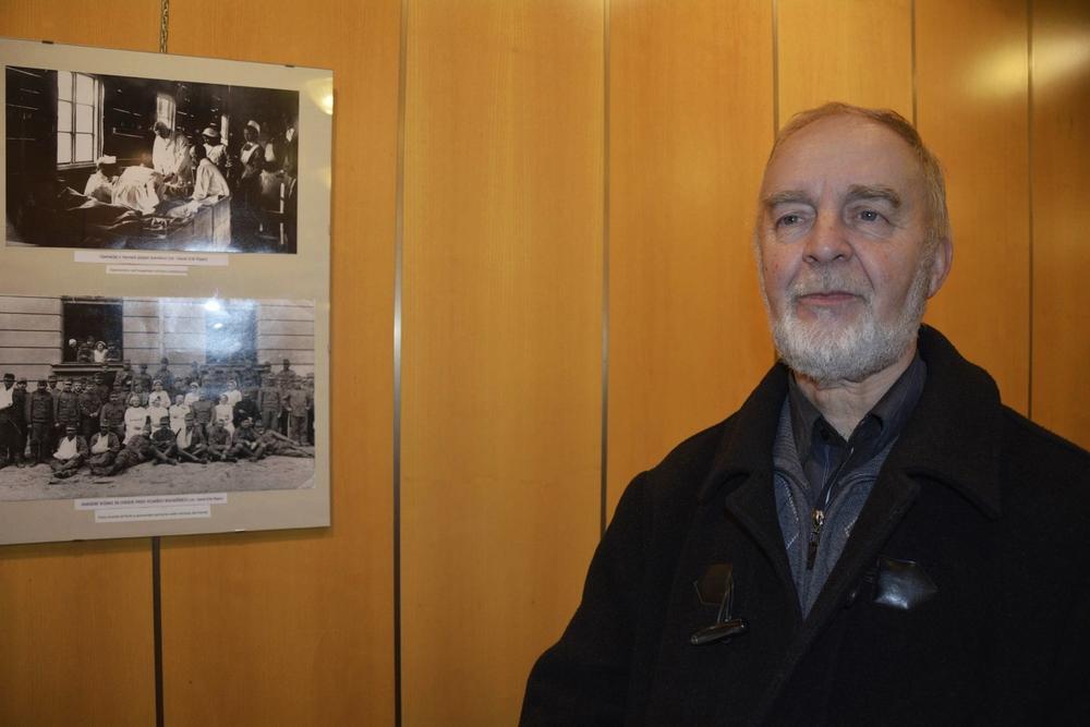 Vili Prinčič, avtor in zgodovinar, društvo Soška fronta