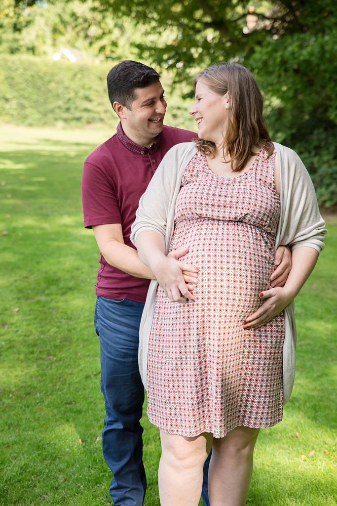 Maternity Pictures Hemel Hempstead in the park