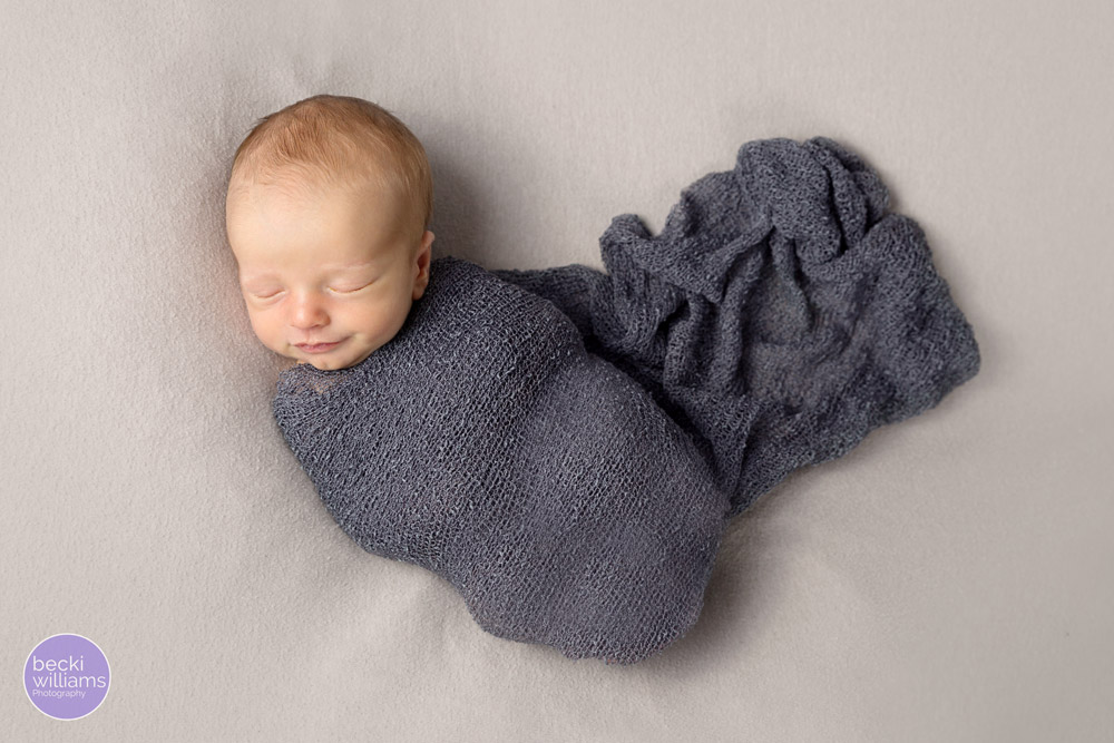 Newborn photos St Albans - wrapped up