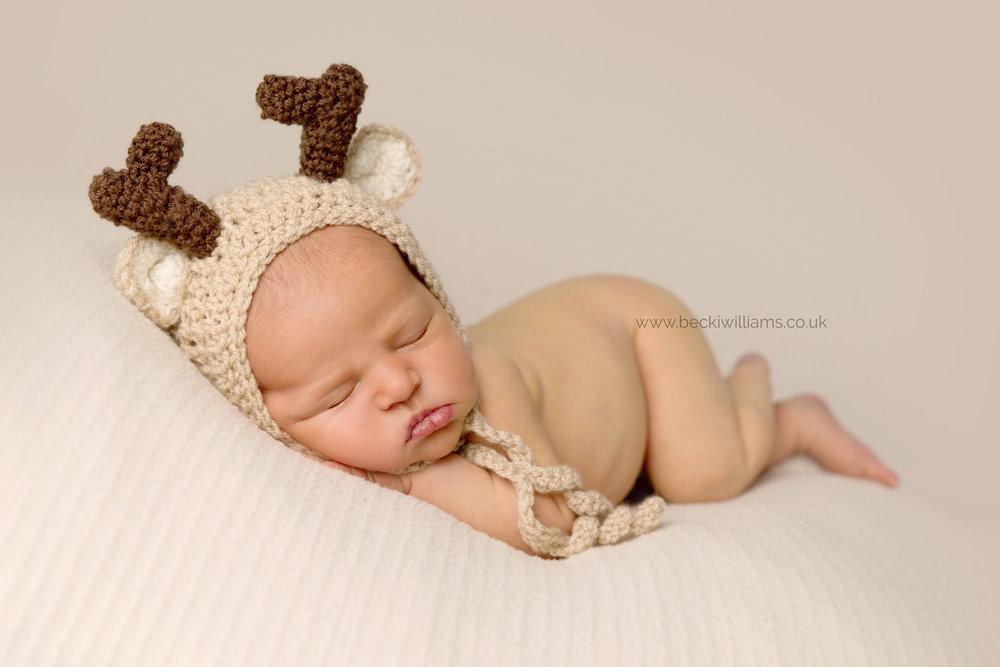 Christmas newborn photos