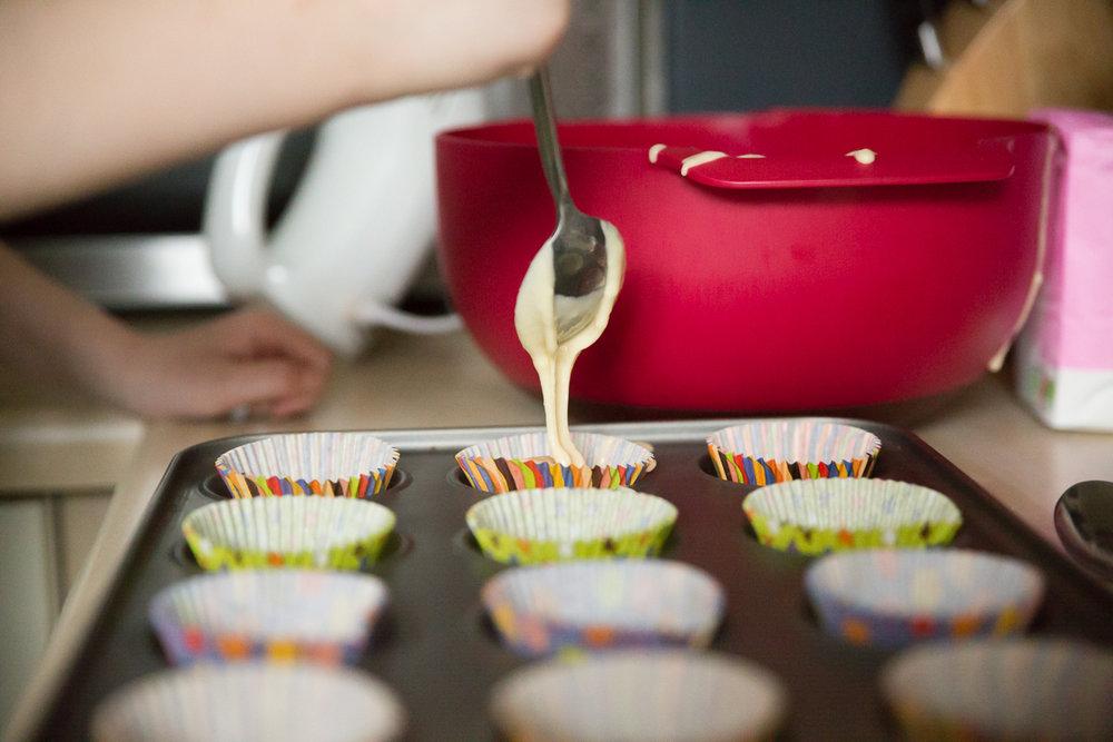 Child Photography Hemel Hempstead - Colourful, baking