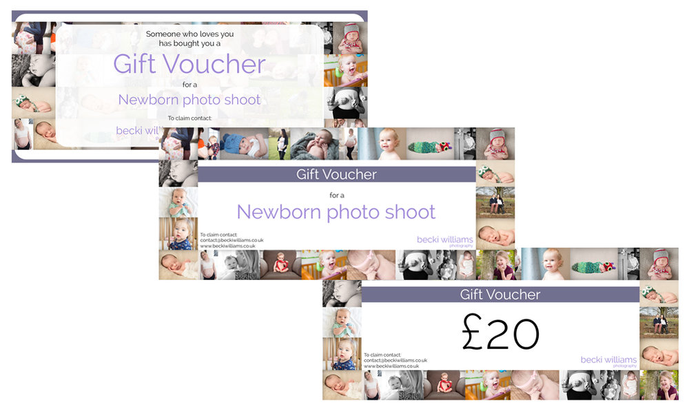 Mother's Day Gift Ideas Becki Williams Photography Gift Voucher
