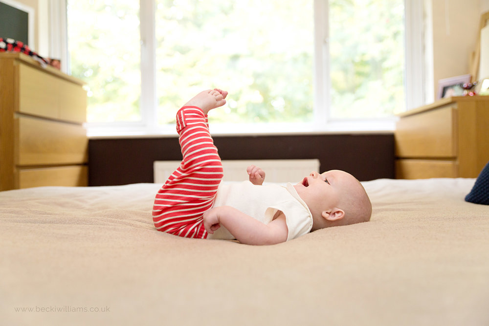 6 month old girl in Hemel Hempstead - Professional photography
