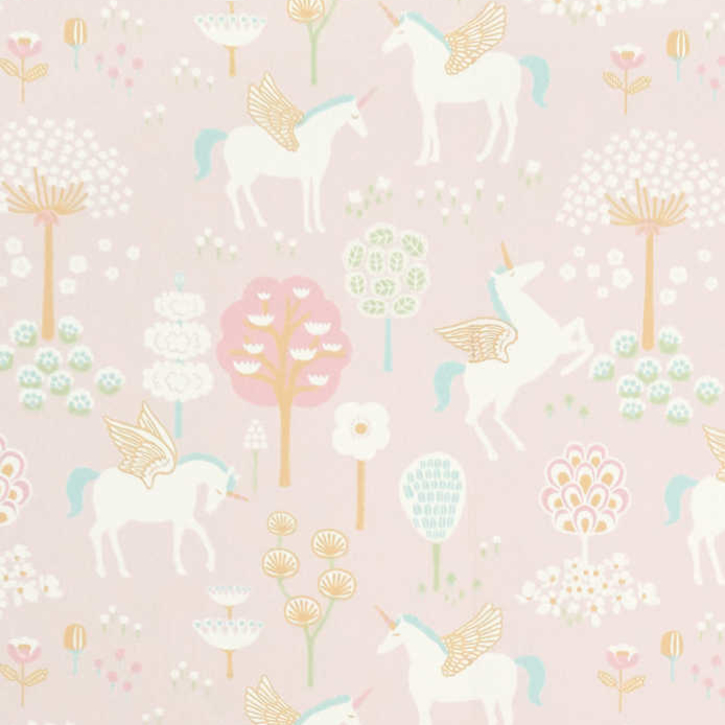 nubie wallpaper for a colourful nursery