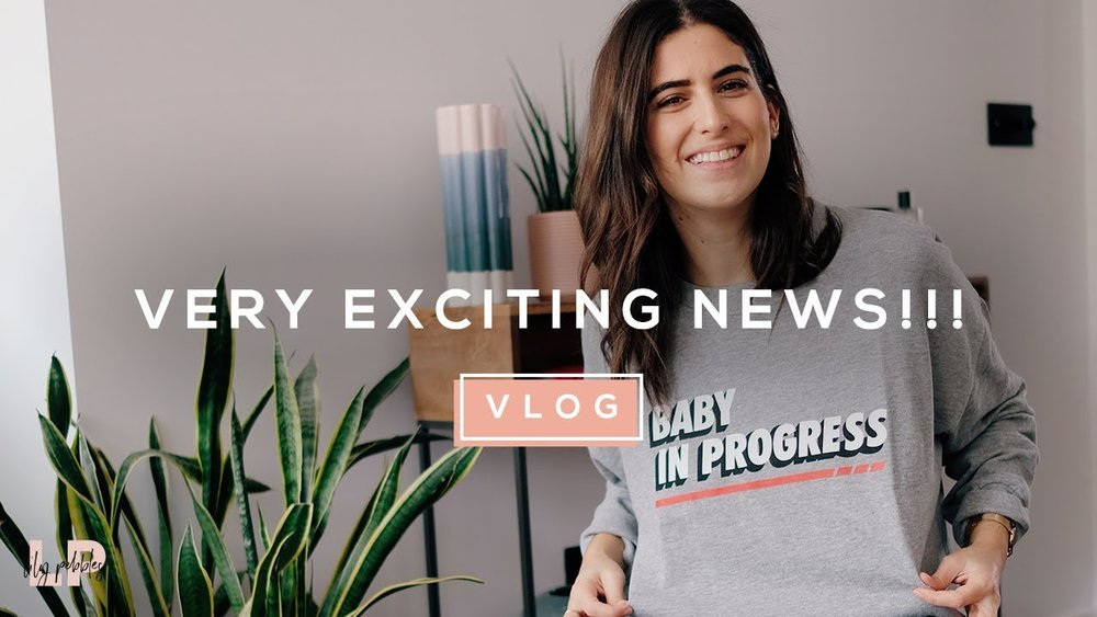 lily pebbles baby announcement on youtube
