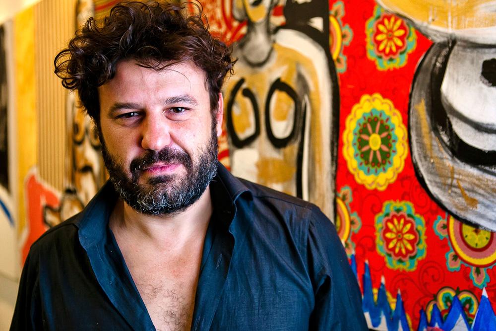 Artist Domingo Zapata