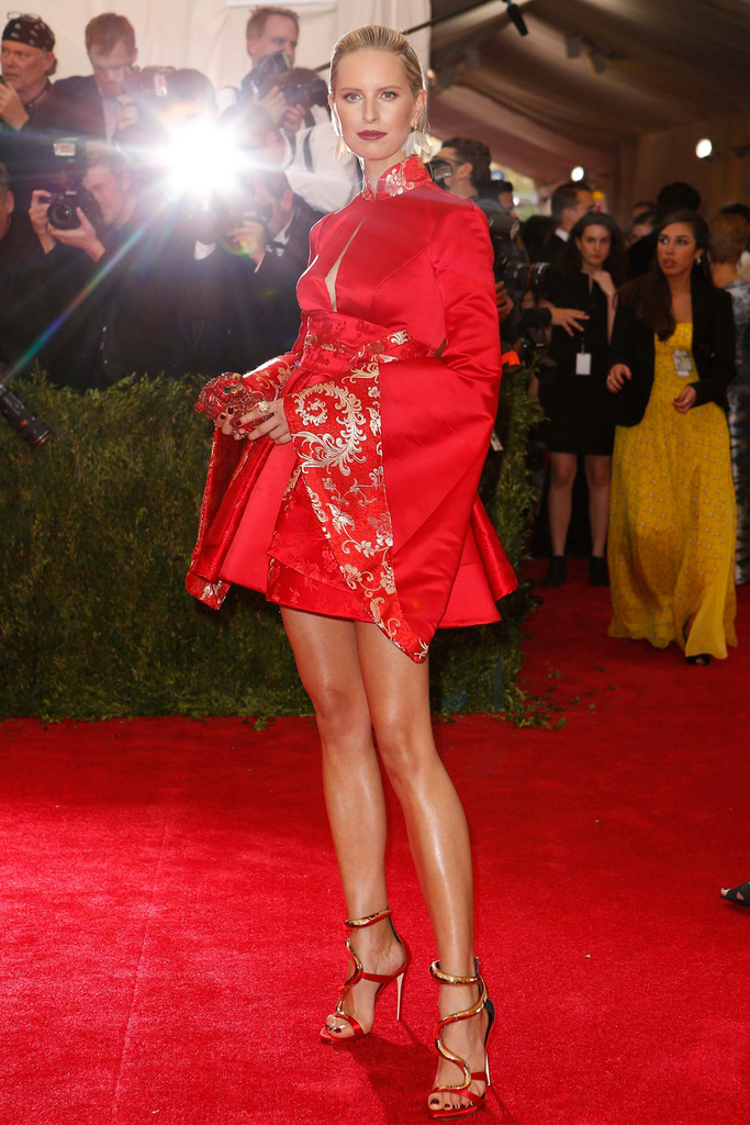 Winner of tonight's Met Gala - Karolina Kurkova