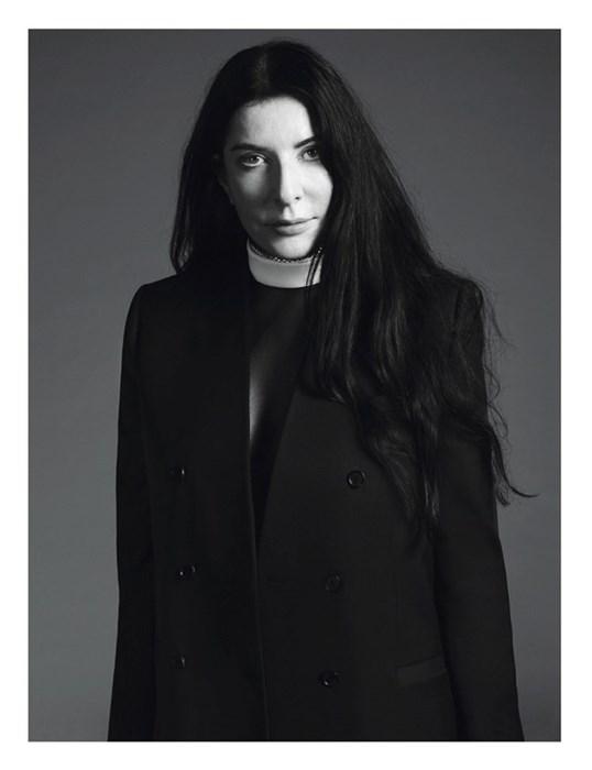 Marina Abramović for Givenchy SS13