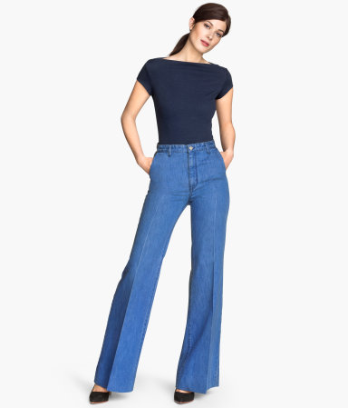 Wide-leg Jeans $59.95