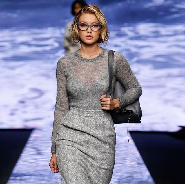 100dd14838b9e Gigi Hadid Channels Marilyn Monroe for Max Mara s Fall 2015 Campaign ...